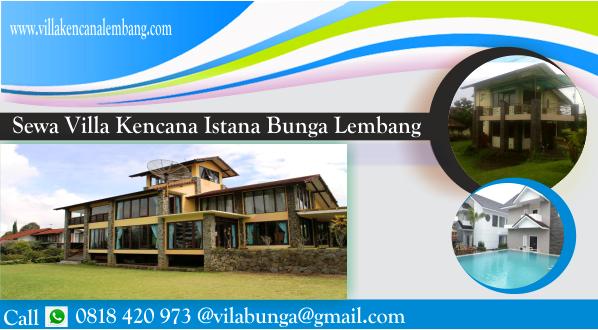 Villa-Kencana-Lembang-1 Villa Kencana Lembang di Villa Istana Bunga Bandung